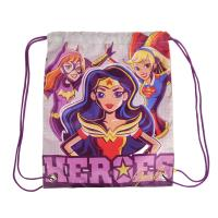 SAQUITO MOCHILA  DC SUPERHERO GIRLS