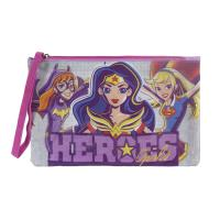 ESTUCHE/PORTATODO CASUAL  DC SUPERHERO GIRLS