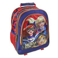MOCHILA ESCOLAR PREMIUM  DC SUPERHERO GIRLS