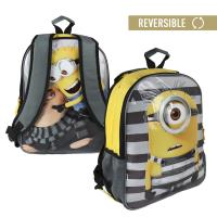 BACKPACK SCHOOL REVERSIBLE MINIONS