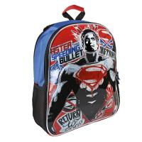 BACKPACK SCHOOL REVERSIBLE BATMANVSSUPERMAN  1