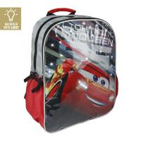 BACKPACK SCHOOL LIGHTS CARS