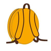 BACKPACK NURSERY 3D EMOJI  1