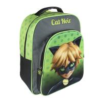 MOCHILA ESCOLAR 3D LADY BUG CAT NOIR