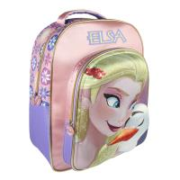 BACKPACK SCHOOL 3D FROZEN ELSA