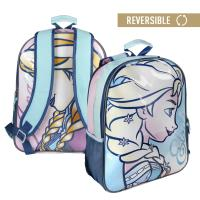 BACKPACK SCHOOL REVERSIBLE FROZEN