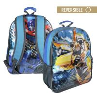BACKPACK SCHOOL REVERSIBLE TRANSFORMERS