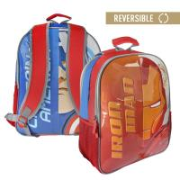 BACKPACK SCHOOL REVERSIBLE AVENGERS