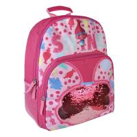 BACKPACK SCHOOL SEQUINS TROLLS