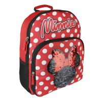 BACKPACK SCHOOL SEQUINS MINNIE
