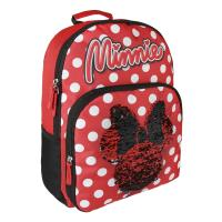 BACKPACK SCHOOL SEQUINS MINNIE  1