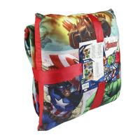 PLAID + CUSHION SET AVENGERS 1