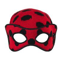 HAT MASK LADY BUG