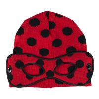 GORRO MÁSCARA  LADY BUG  1