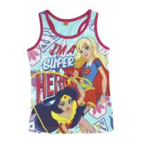 CAMISETA TIRANTES DC SUPERHERO GIRLS
