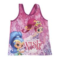 STRAPS T-SHIRT SHIMMER AND SHINE