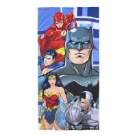 SERVIETTE DE PLAGE POLYESTER  JUSTICE LEAGUE