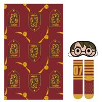 SET REGALO MANTA HARRY POTTER