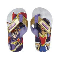 CHANCLAS POLYESTER  DC SUPERHERO GIRLS