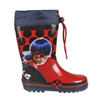 RAIN BOOTS RUBBER LADY BUG