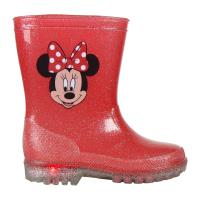 BOTAS LLUVIA PVC LUCES MINNIE