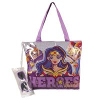 HANDBAG BEACH DC SUPERHERO GIRLS