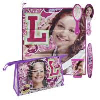 TRAVEL SET PERSONAL TOILETBAG / TRAVELBAG SOY LUNA