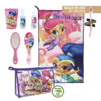 TRAVEL SET PERSONAL TOILETBAG / TRAVELBAG SHIMMER AND SHINE
