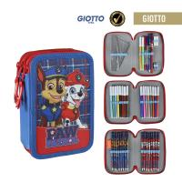 PENCILCASE 3 ZIPPERS GIOTTO BTS17 PW