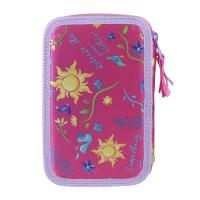 FILLED PENCIL CASE TRIPLE GIOTTO PREMIUM TANGLED  1