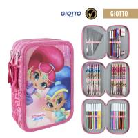 FILLED PENCIL CASE TRIPLE GIOTTO SHIMMER AND SHINE