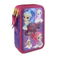 FILLED PENCIL CASE TRIPLE GIOTTO PREMIUM SHIMMER AND SHINE  1